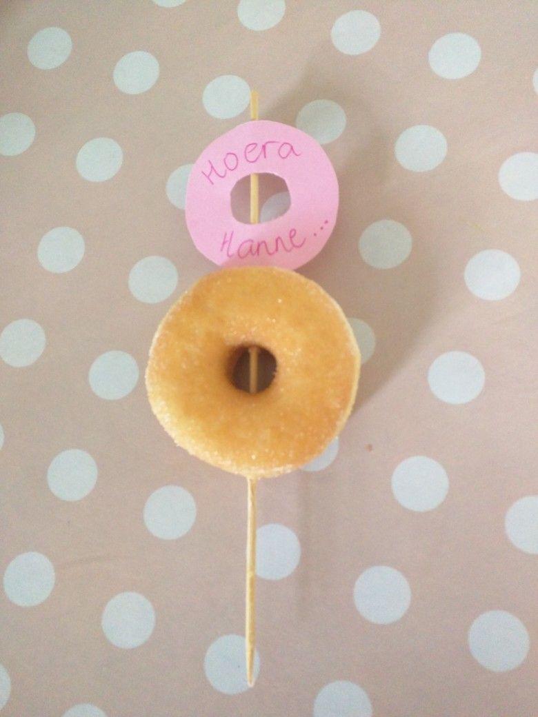 Traktatie 8 Jaar Donut Thijmen 9 Jaar In 2019 Jongen Verjaardag