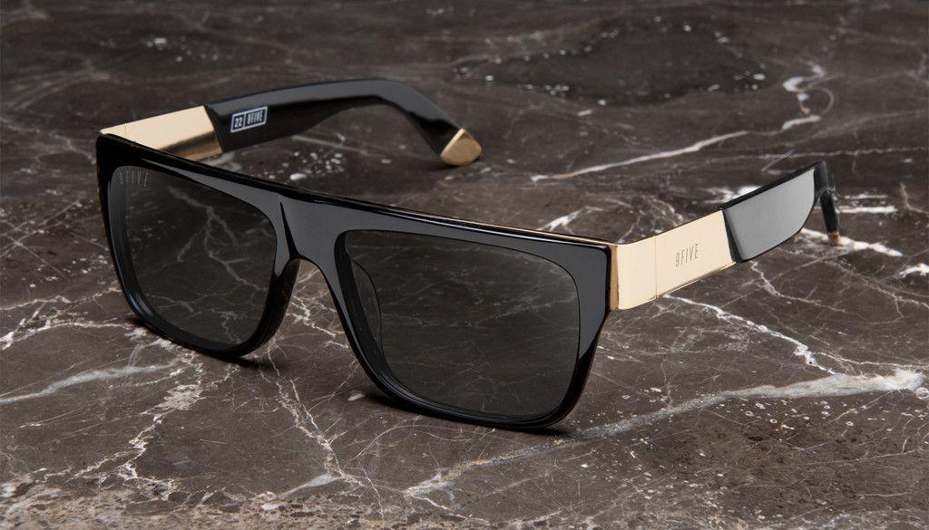 00ddba9a7877e 9FIVE 22 Black   Gold Shades – 9FIVE Eyewear