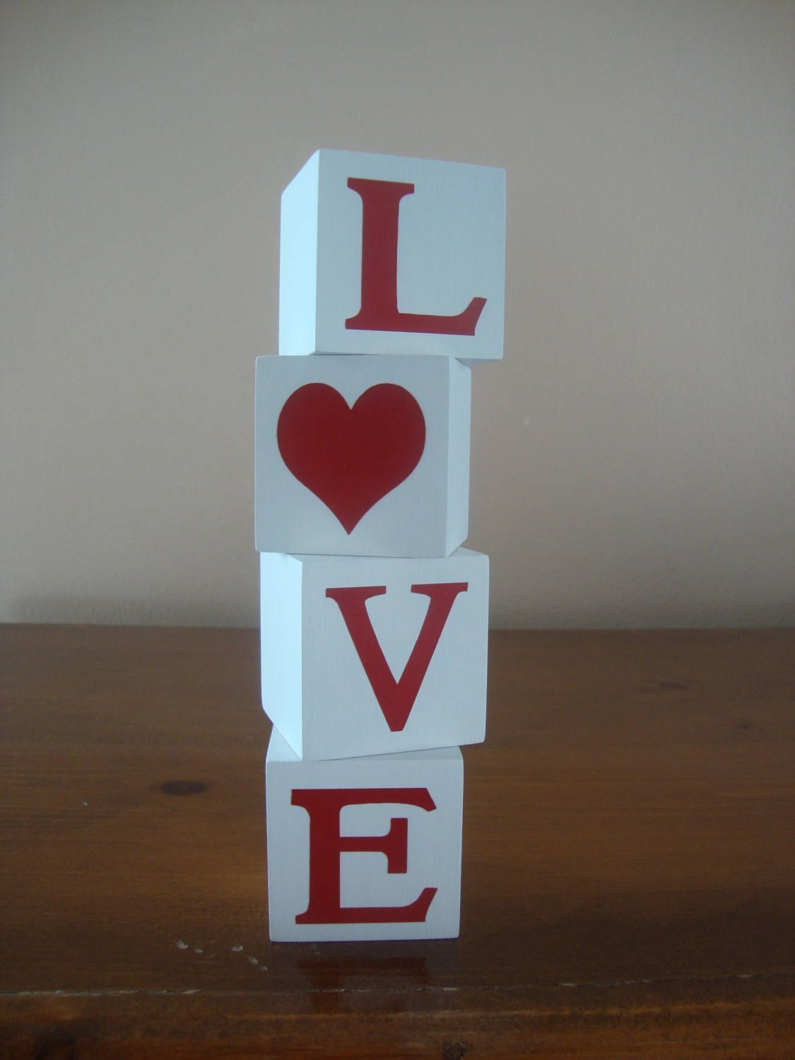 This item is unavailable This item is unavailable Kimberly Nichols kimbernick Valentines LOVE wooden letter blocks for home decor and decoratingvalentines day  Wood decor...