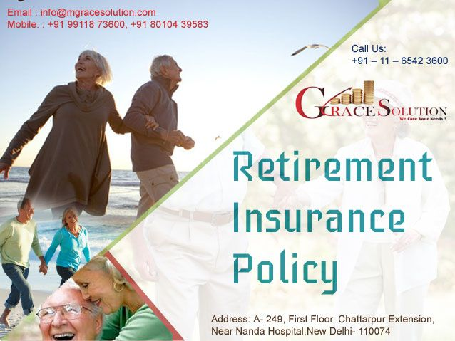 Planning your Retirement?Grace Solution can Help You..