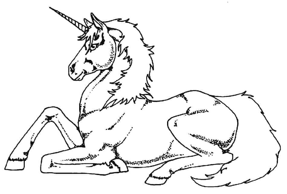 Angry Unicorn Coloring Pages For Kids Printable Unicorn Coloring Pages Coloring Pages For Kids Love Coloring Pages