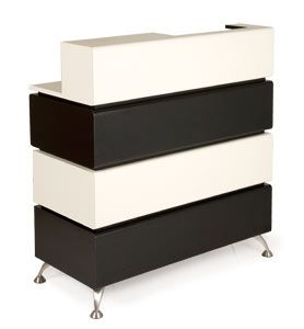 Icon Salon Reception Desk Made To Order In Huge Choice Of Finishes Uk