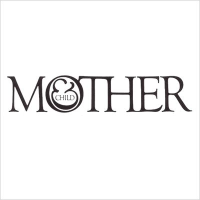 awesome images: Mother & Child logo: designed by Herb Lubalin and Tom Carnase in 1965