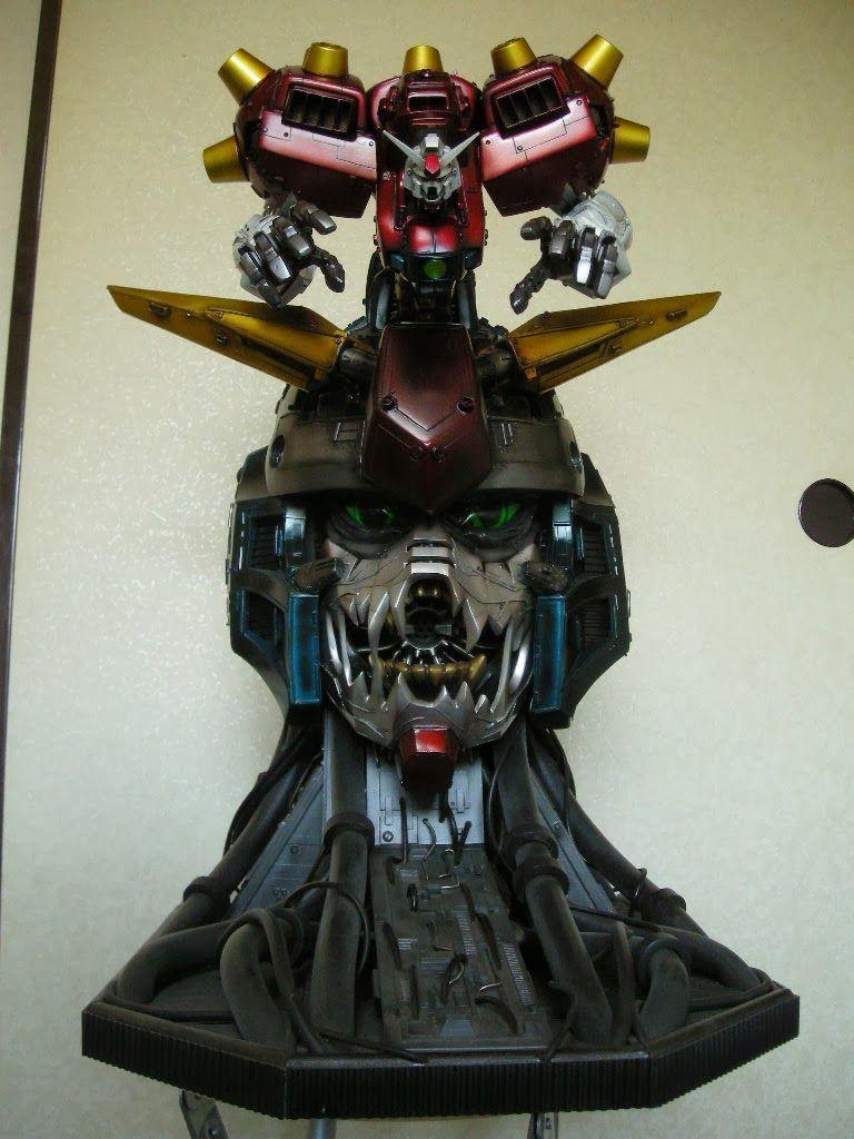 Gundam guy 160 devil gundam custom build gunpla