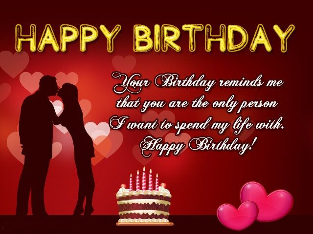 Happy Birthday Cards For Boyfriend The Man In Your Life Is The