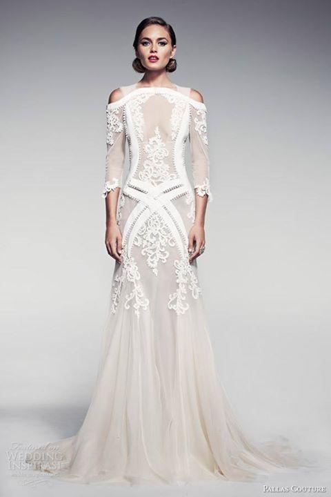 Half Wedding Pallas The But Dress Bottom Stunning Couturelike IYW9eHED2b