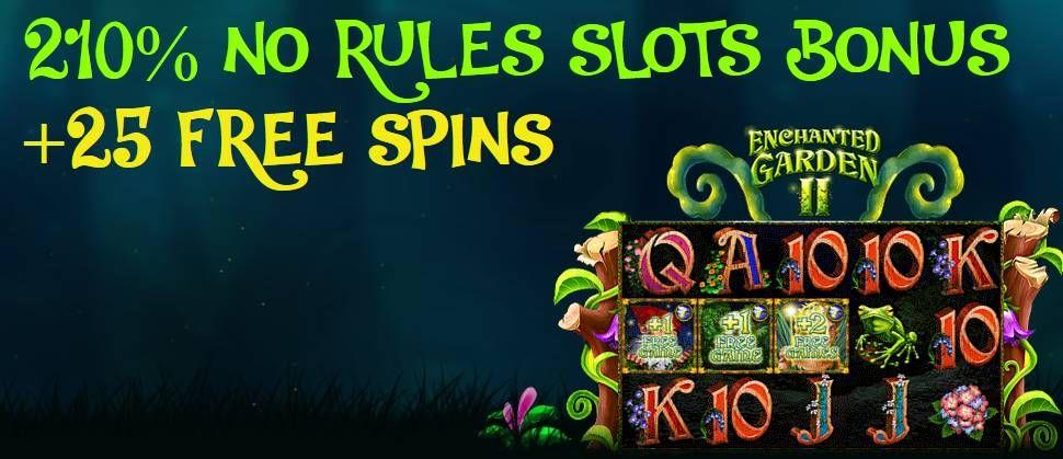Ruby Slots No Rules Bonus