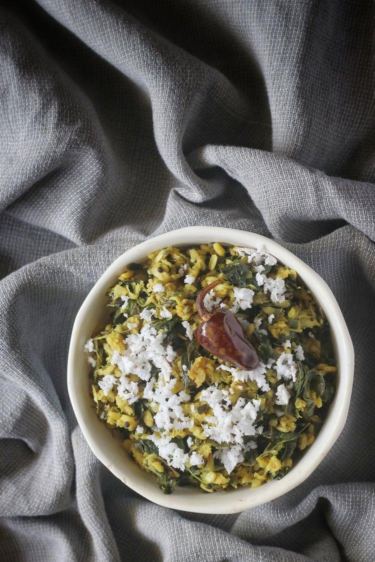 Murungayila or Moringa Leaves Thoran Recipe in 2020