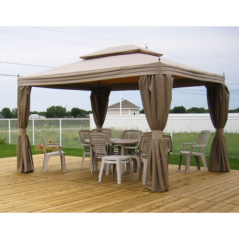 Costco Home Casual 10 x 12 Gazebo Replacement Canopy  sc 1 st  Pinterest & Costco Home Casual 10 x 12 Gazebo Replacement Canopy | Decks ...