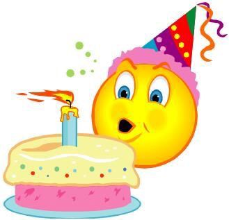 Birthday Cake Emoji Art : Happy birthday Clip Art/Emoji/Emociton Pinterest ...