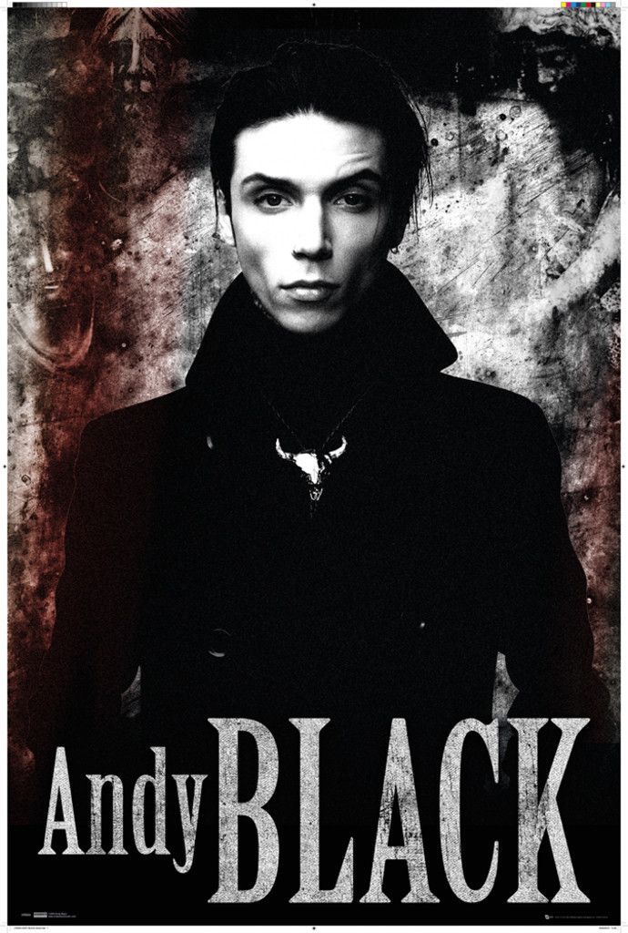 Black Veil Brides Andy Black Stone - Official Poster