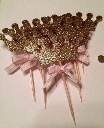 Como hacer coronitas de princesas para cumplea os - Como hacer decoracion de cumpleanos ...