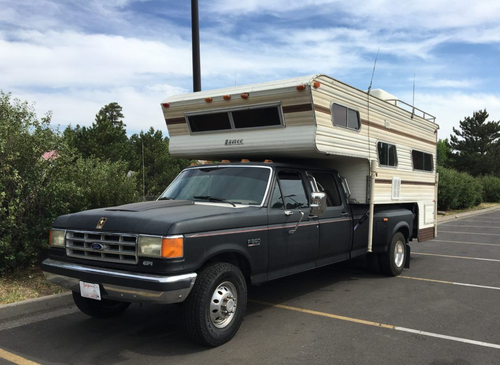 Tips For Buying A Used Truck Camper Truck Camper Slide In Truck
