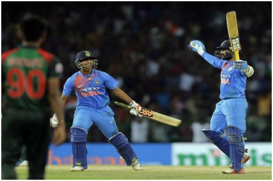 Live cricket score India vs Bangladesh Asia Cup 2018 लइव