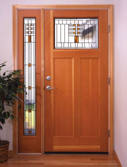 Did You Know That We Replace Old Doors With New By Simpson This Is Their Craftsman Door