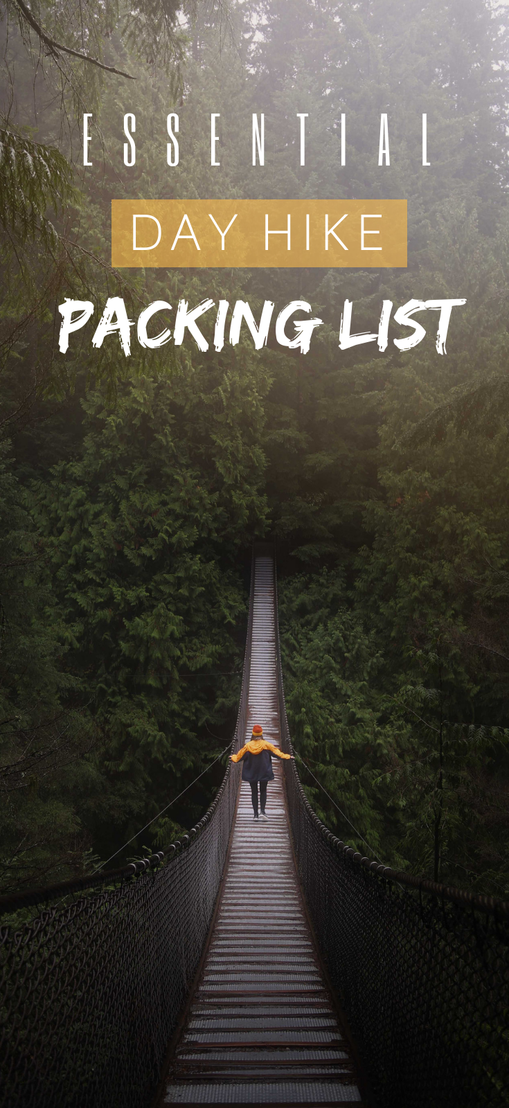 Pack With Me: Day Hike Packing List
