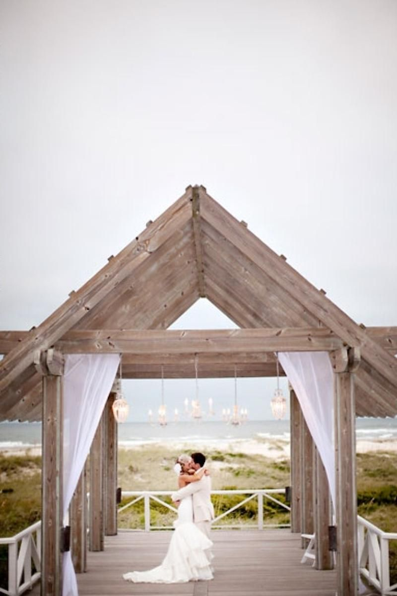 Shoals Club Weddings Bald Head Island Nc Beach Wedding Venue