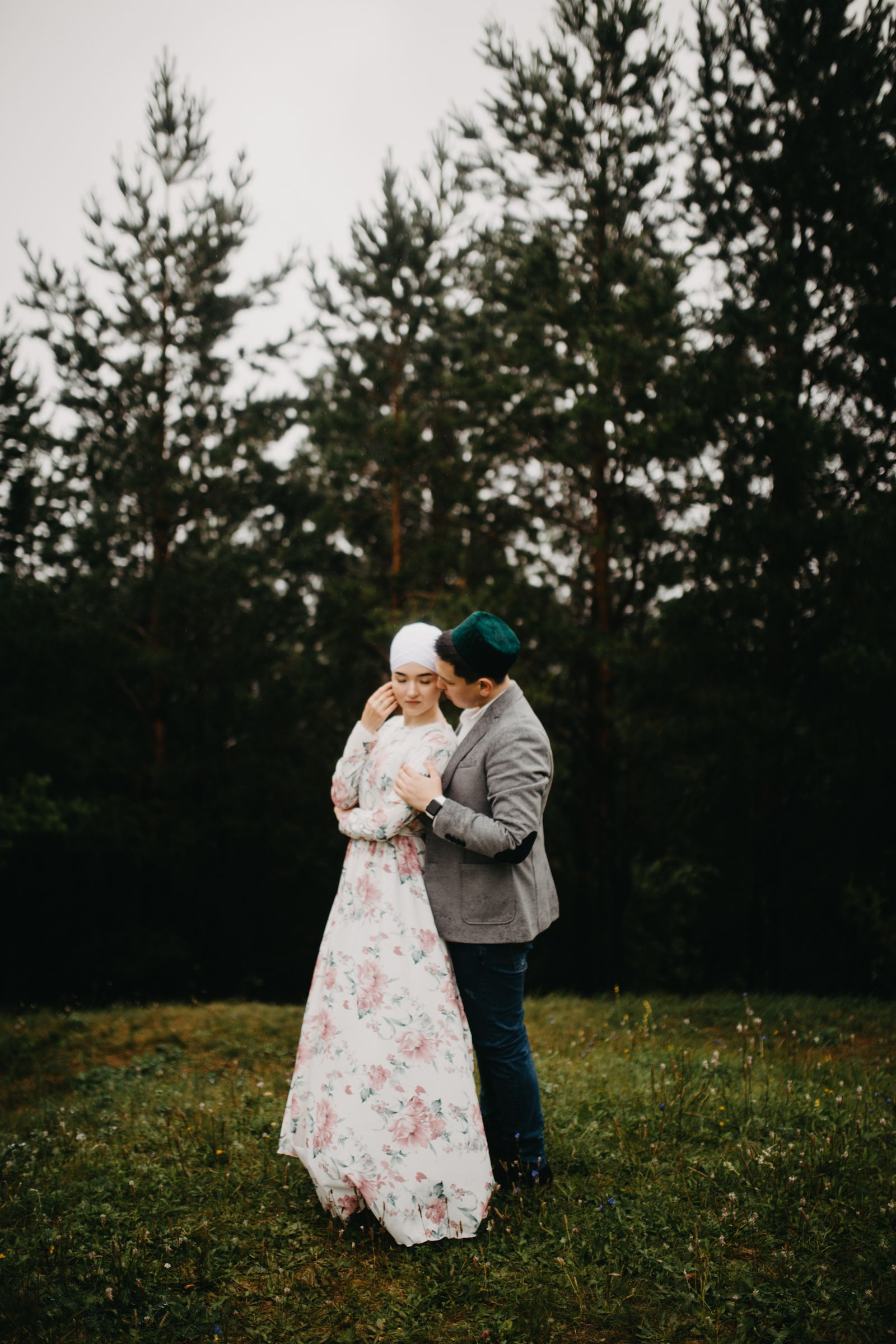Фотосессия пары love story wedding day никах образ на ...