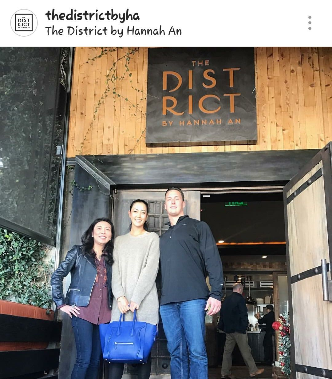 La restaurant the district by hanna an los angeles