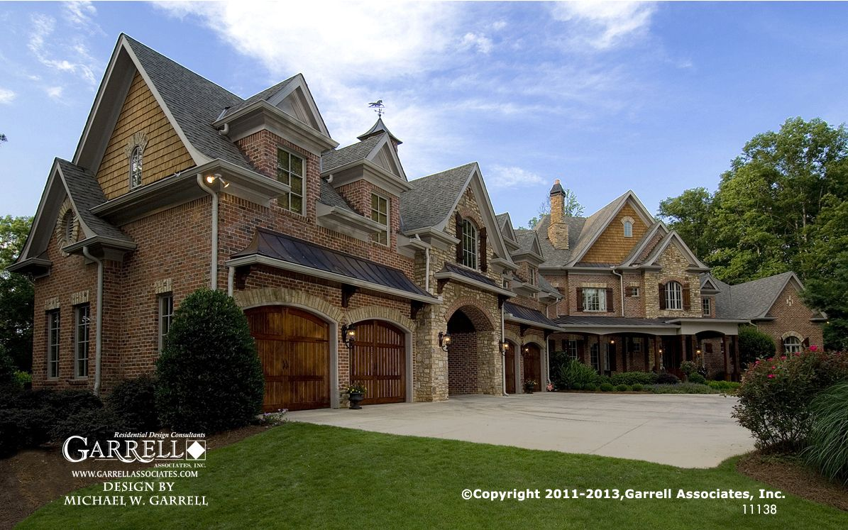 Garrell associates inc havenhurst 11138 european for Luxury country house plans