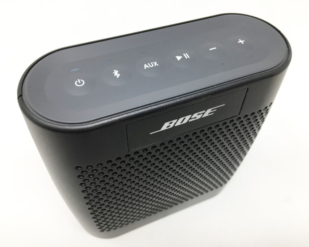 Bose Soundlink Color Bluetooth Speaker Black 627840 1110 Used