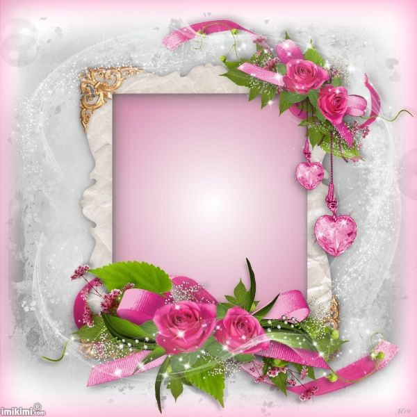 Happy Mother S Day Imikimi Com Rose Frame Flower Frame Free Photo Frames