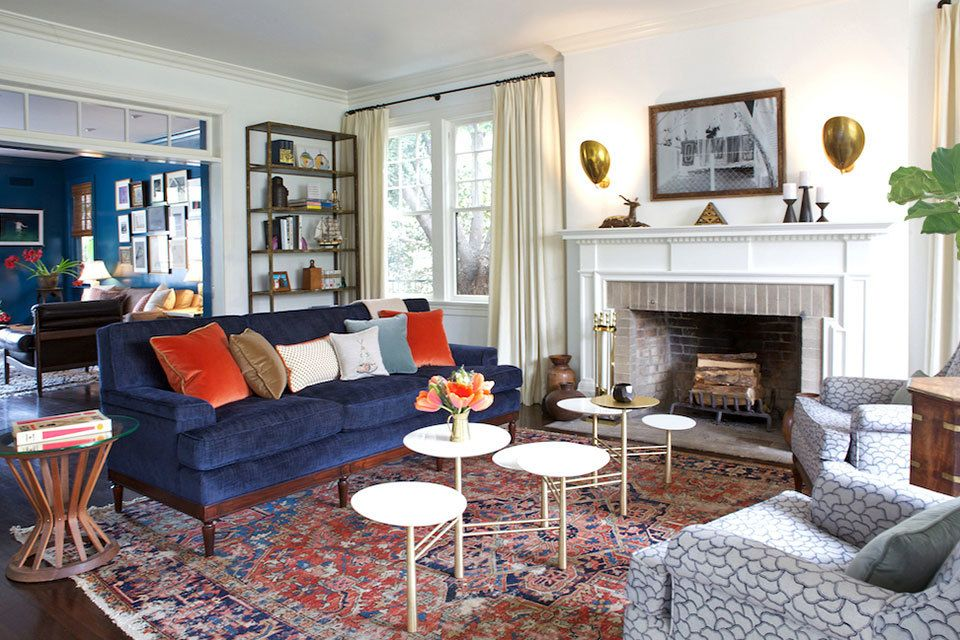 Chairish Transitional Living Rooms Living Room Remodel Living Room Designs #small #living #room #paint