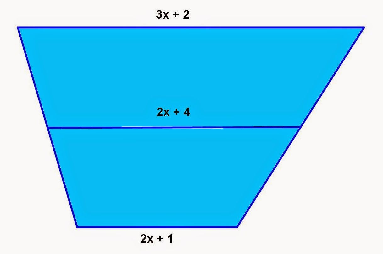 Math principles trapezoid and quadrilateral problems 5