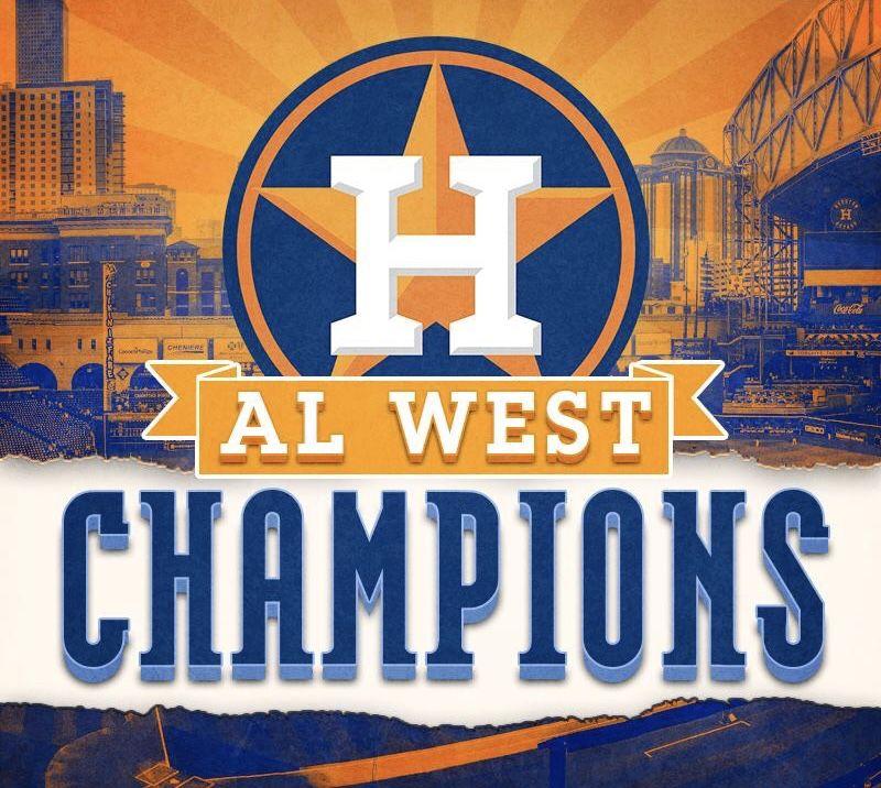 2018 AL West Champs | Houston Astros ⚾️❤️⚾️ | Baseball