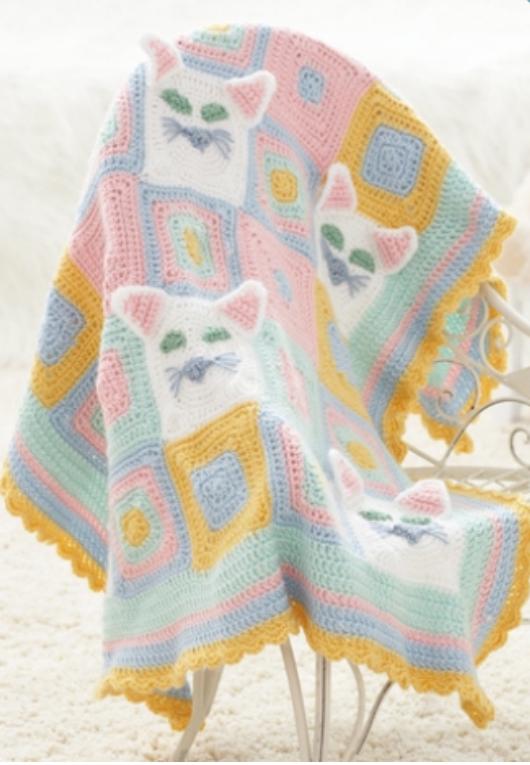 Pin de Monika Borger en Decken | Pinterest | Manta y Bebé