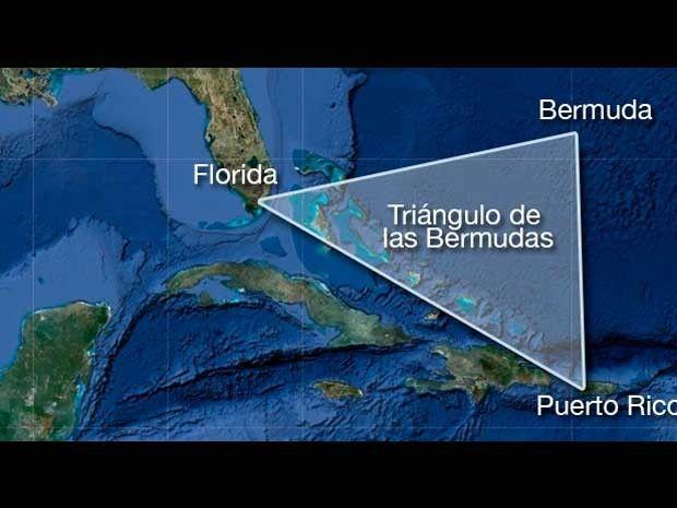 Científicos Resuelven El Misterio Del Triángulo De Las Bermudas Triangulo De Las Bermudas Triangulos Ciencias De La Naturaleza