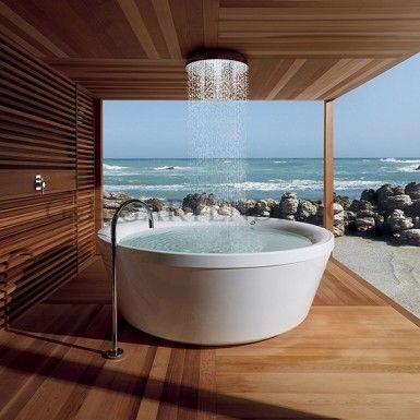 hochwertige saunah user au ensaunen spa pinterest badezimmer badewanne und baden. Black Bedroom Furniture Sets. Home Design Ideas