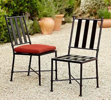 Redding Metal Dining Chair #potterybarn
