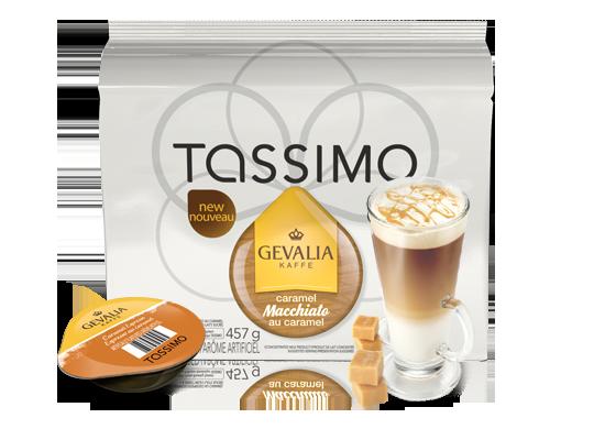 Gevalia Caramel Macchiato my fav tassimo coffee