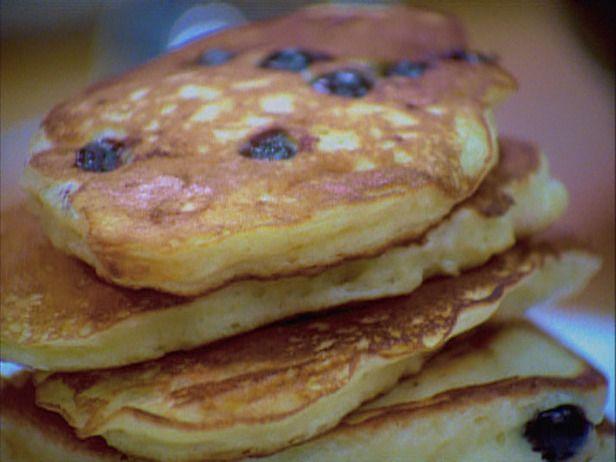 Blueberry Buttermilk Pancakes Recipe Food Network Recipes Blueberry Pancakes Recipe Blueberry Buttermilk Pancakes