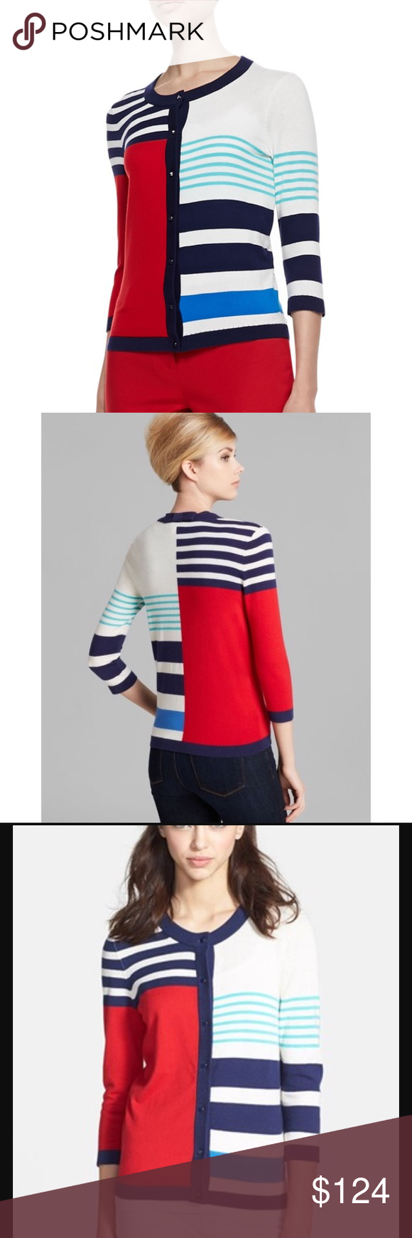 ♠️️ KATE SPADE ♠️️ Ollie Cardigan Super cute and fun! kate spade Sweaters Cardigans