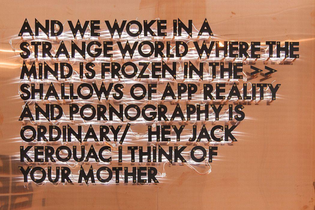 The Melancholic Lyricism Of Robert Montgomery – iGNANT.de