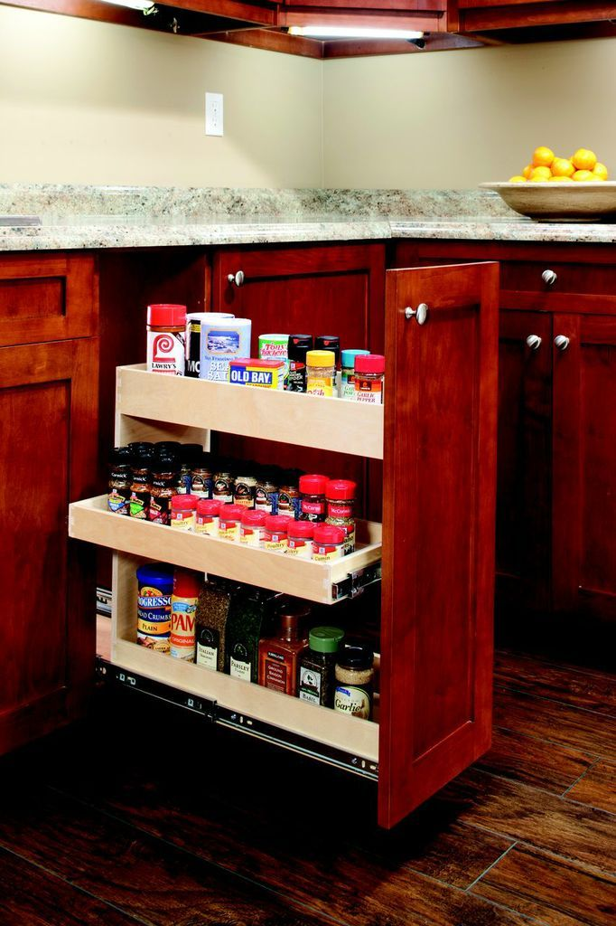 Incroyable Put Your Spices Where You Need U0027em   Right Next To The Stove In A  #pulloutspicerack. Save Some Room For Your Cooking Spray And Oil, Too!