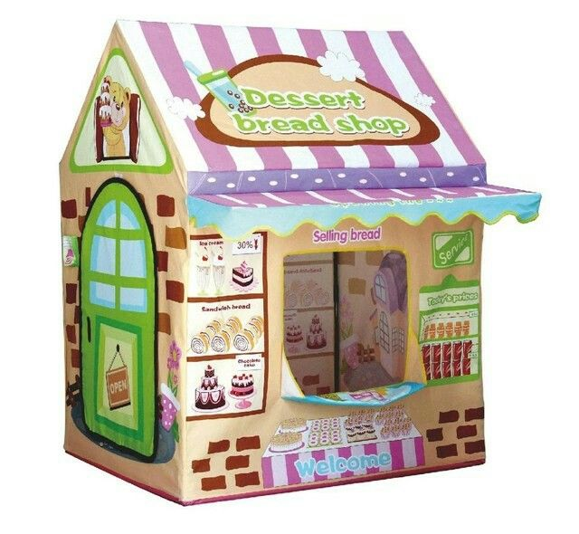 Kids Play House TentLwang Playhouse Bread House for Girls and Boys Play Tent Great Children Gift  sc 1 st  Pinterest & Pin by Jelena Meš?ikovi?a on play house | Pinterest | Play houses ...