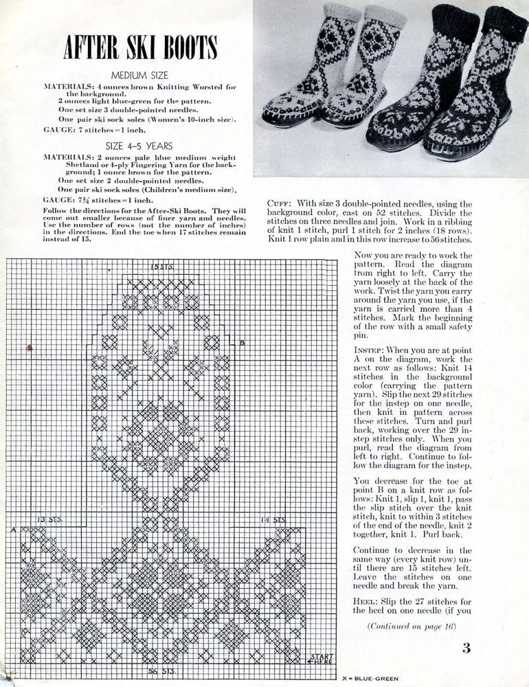 Pildiotsingu nordic knitting chart tulemus | Knitted toasty toes ...