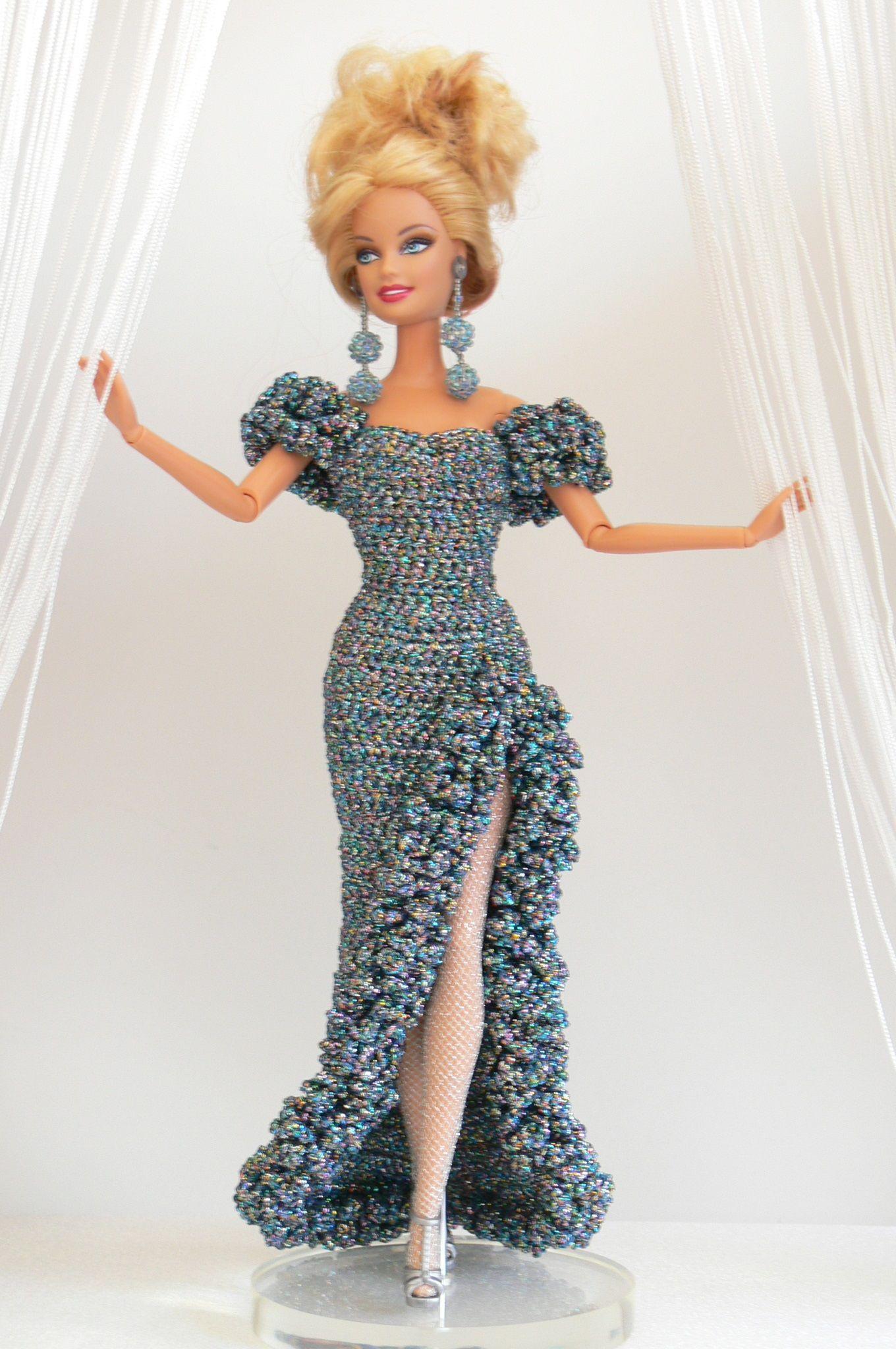 Handmade Dolls Outfit | Barbie | Pinterest | Barbie, Barbie kleider ...
