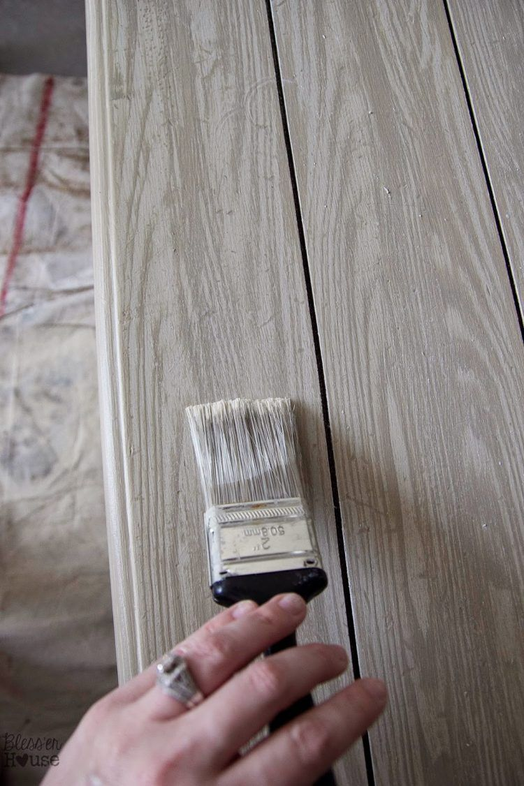 Faux Wood Finish Paint This Technique Is Cool If You Want To Make