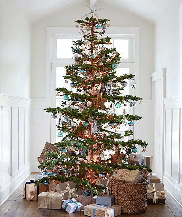 Going Coastal Pottery Barn Part I: Having A Christmas By The Sea? Here's How To Decorate Your