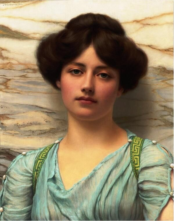 John William Godward「Carina」(1910)