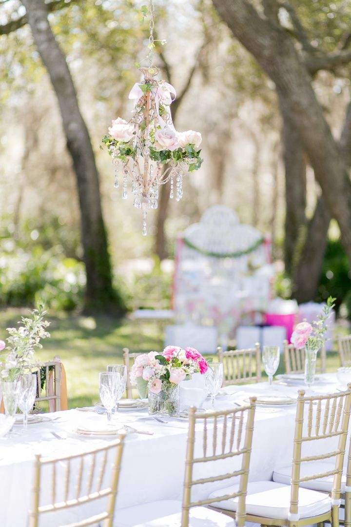 This Feminine Bridal Shower In The Backyard Will Make You