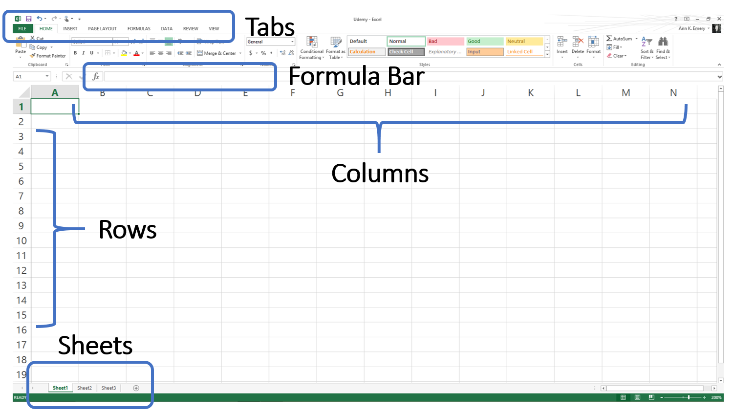 Httpsudemytutorialslearn excel interesting stuff looking for a comprehensive excel tutorial this free gif and text based tutorial will teach you everything from the basics through v lookups and pivot baditri Choice Image