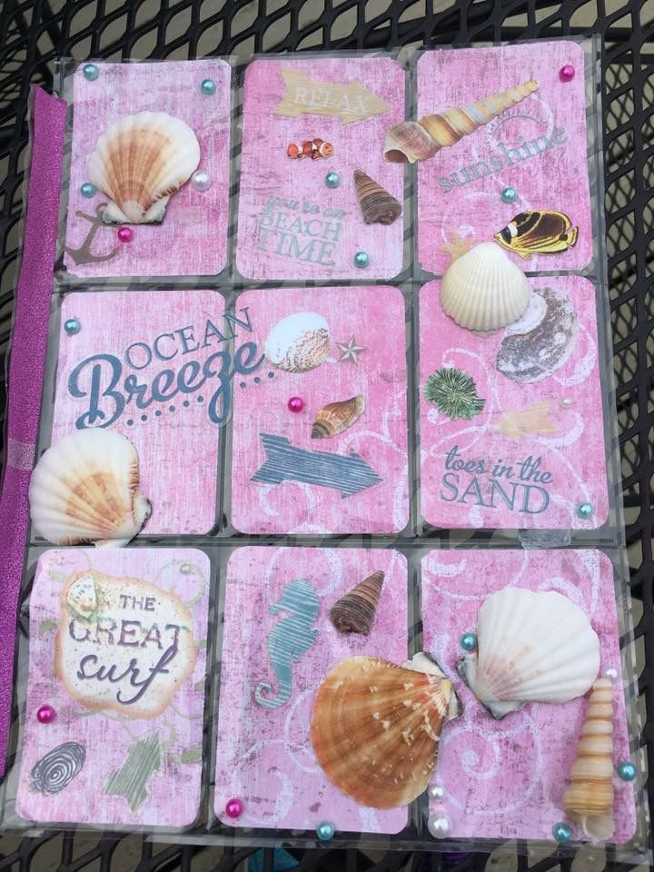 Beach pocket letter by Nikki Brunk Hogy!