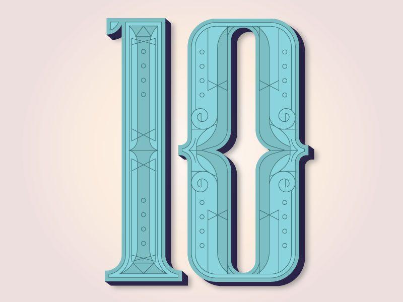 i like the little details. Look at 'em. Just look at 'em. #design #poster #typography