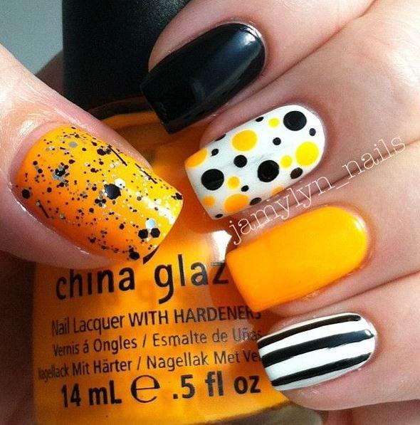 30 Halloween Nail Art Design Ideas Nail Nail Nail Color Designs