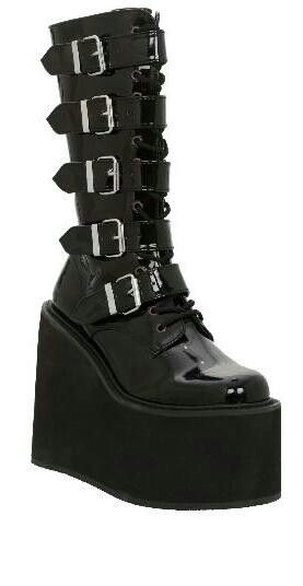 Gothic shoes, Punk shoes, Goth boots